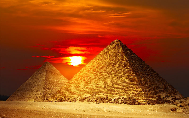 the secret of building the pyramids
